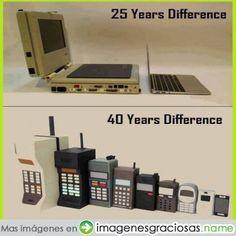 Evolución tecnológica #imagendeldia - Cachicha.com