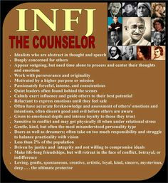 INFJ - The Counselor