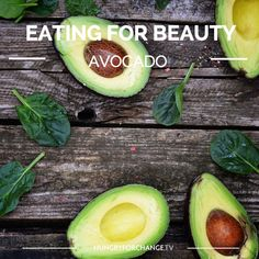 These babies are abundant in vitamins and minerals that are crucial to your entire body and especially beneficial for your skin. Particularly high in beta-carotene, lutein, vitamins B6, C, E, K, selenium, zinc, folate, potassium, glutathione and healthy fats to nourish the body and skin.