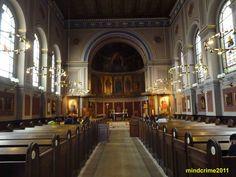 interior of Saint Ansgar's cathedral