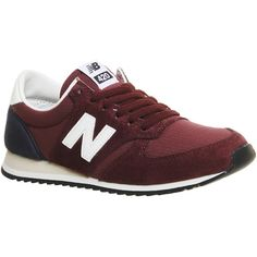 New Balance U420 ($91) ❤ liked on Polyvore featuring shoes, athletic shoes,