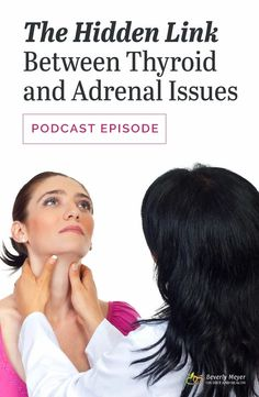 What's the link between thyroid and adrenal problems? Why do doctors focus on the thyroid and ignore adrenal fatigue? Is there a hidden connection between thyroid and adrenal problems? Consider this: Symptoms of Hypothyroidism and Adrenal Fatigue can be quite similar! // ondietandhealth.com Adrenal Glands, Adrenal Fatigue, Adrenal Health, Women's Health, Hypothyroidism Symptoms, Thyroid Disease, Thyroid Problems, Natural Health, Diet