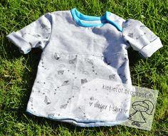T-shirt tricot, baby, vliegeren, naaien, diy http://kiekielot.blogspot.nl