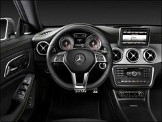 CLA 200 Interior. Cant wait to drive u! Woot!