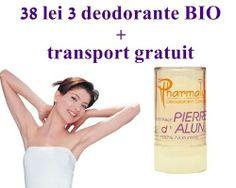 Deodorant 100% BIO: Doar 38 lei 3 deodorante Alumstick unisex + transport gratuit!