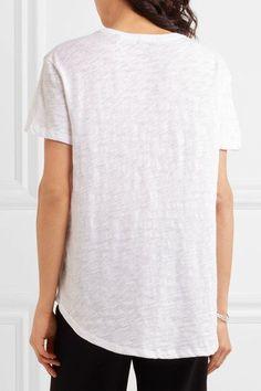 ATM Anthony Thomas Melillo - Boyfriend Slub Cotton-jersey T-shirt - White - XS/S