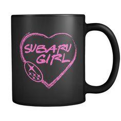 Subaru Girl Heart Mug