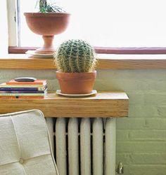 From radiator to shelf (Domino magazine).
