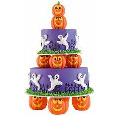 Bolos e cupcakes para o dia das bruxas!