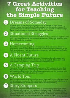 future simple - suggestions of activities
