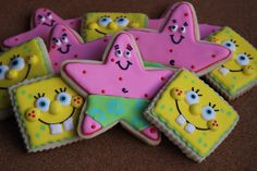 Sponge Bob and Patrick jSweetBakedLove: Top 5 posts of 2012