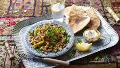 Bring the enchanting flavours of the Middle East to a simple pot of lentils. Top with fresh herbs and a squeeze of lemon for a moreish meal.
