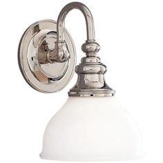 """Sutton 10 1/4"""" High  Polished Nickel Wall Sconce -"""