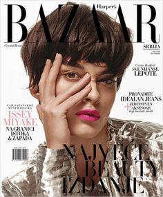 Кристал Ренн на обложке Harper's Bazaar Serbia (Интернет-журнал ETODAY)