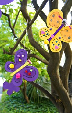 Toddler Butterfly Crafts. More