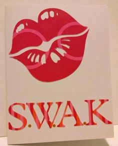 S.W.A.K card