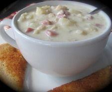 Chicken Cordon Bleu Soup. 2nd Runner-up in the LDS Living Magazine.