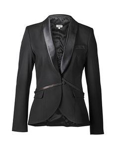 hunky dory tux jacket