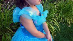 Disfraz Cenicienta paso a paso/ Cinderella costume diy