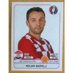 Football Soccer Sticker Panini UEFA Euro 2016 #447 Croatia