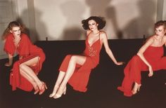 Super Seventies - Fashion photography by Guy Bourdin, 1970s.