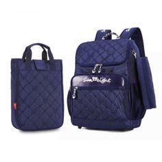 3pcs children school bags for boys kids bag boy large backpack girl  schoolbag blue book bag f9f6c5a947