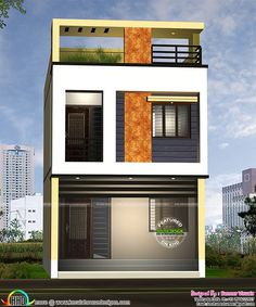 elevation designs for 3 floors building - بحث Google | my house ...