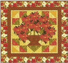Holiday+Elegance+Poinsettia+Quilt+Kit+by+Windham+Fabrics+at+Creative+Quilt+Kits  Use Code- PINTEREST10 to receive 10% off your order at check out!!