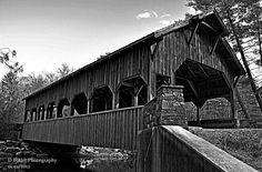 Dennis Butler Photography - Covered Bridge at High Falls. Dupont State Forest, Old Bridges, High Falls, Little River, Covered Bridges, Travel Information, Butler, Arches, North Carolina