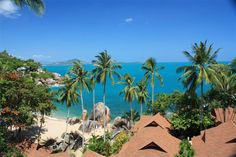 """Coral Cove Chalet, Koh Samui, Thailand. Small hotel situated """"in the middle"""" of Chaweng and Lamai beaches.  http://www.coralcovechalet.com/"""