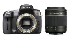 Sony DSLR-A550 14.2 MP Digital SLR Camera with 55-200mm f/4-5.6 DT AF Zoom Lens