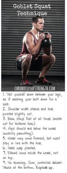 """Squatting is bad for your knees"" they say. I say, ""So long as you're following these tips, squat as often as possible."" www.chroniclesofstrength.com"