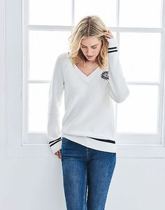 Find quality British smart casual clothing at Crew Clothing UK. Shop classic men's and women's coats, footwear, rugby, polo shirts and more. Crew Clothing, Classic Man, Smart Casual, Cricket, Coats For Women, Jumper, Casual Outfits, Polo Shirt, Bell Sleeve Top