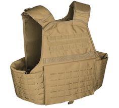 Laser Cut Carrier Weste, coyote / mehr Infos auf: www.Guntia-Militaria-Shop.de