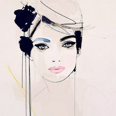 Pin for Later: 21 Fashion Illustrators to Follow on Instagram @leighviner Leigh Viner's romantically inky females make for a grid of soulful eyes and impeccable style.