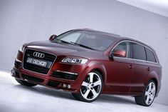 Audi Q7 2013 Maroon/Claret. Maybe in another color & definitely with beige leather inside