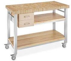 Carrello portavivande - acciaio e legno | Nido 3.0 - Cucina ...