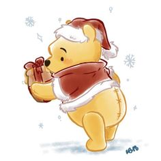Ideas Quotes Winnie The Pooh Eeyore For 2020 Winnie The Pooh Christmas, Cute Winnie The Pooh, Winne The Pooh, Winnie The Pooh Quotes, Winnie The Pooh Friends, Disney Christmas, Winnie The Pooh Drawing, Winnie The Pooh Pictures, Loli Kawaii