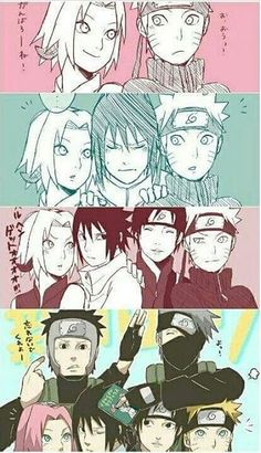 The evolution of team 7
