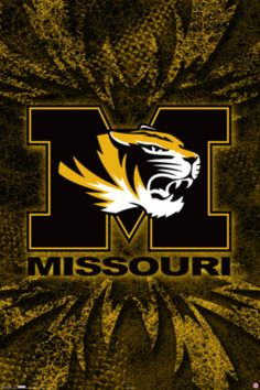 Camo and Mizzou.two of my favorite things! Sports Team Logos, Sports Teams, Sports Posters, Flag Football, College Football, Youth Football, Lebron James Lakers, Tiger Wallpaper, Us Universities