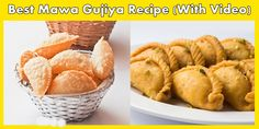 Kick Off The Tea Time With Delicious And Crispy 'Dry Fruits And Mawa Gujiya'!!