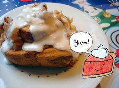Cakespy: Cinnamon Rolls Stuffed With Thanksgiving Pie Leftovers