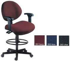 Ofm 241 Aa Dk 24 Hour Computer Multi Shift Adjustable Task Chair