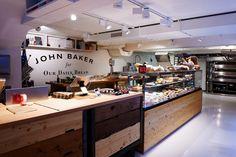 John Baker in Zürich Baker Shop, Cafe Bistro, Elderly Home, Shop House Plans, Cool Cafe, Shop Interior Design, Healthy Chicken Recipes, Rustic Kitchen, Decoration