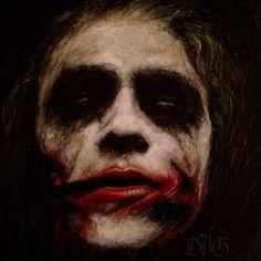 Joker, Heath Ledger #art #drawing #colored #color #dark #realistic #pencil #sketch #villain
