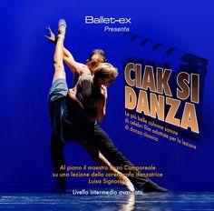 """Ascoolta le tracce del nuovo cd per lezioni di danza classica """"Ciak si danza"""""""