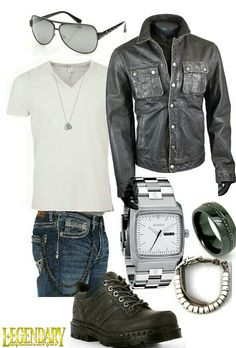 Men's casual jeans outfit