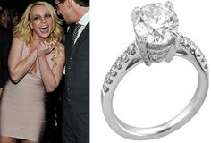 Another most expensive engagement ring is worn by Britney Spears, which was gifted to her by her fiancé, Jason Trawick. The platinum ring is studded with a 4 carat giant diamond in the centre. It is also adorned with smaller shimmer diamonds along its bands. The beautiful ring is priced at $92,000. Despite of Britney's unsuccessful relationships in the past, the couple is looking forward to having a fruitful one, this time.
