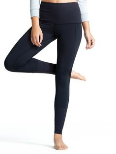 The Yama Tight: Our most popular pant ever. They are full length, tight fitted with a tall ribbed waistband, tall cuffs, a hidden waistband pocket and an inseam gusset. The Yama Tight is made for every woman with every movement in mind.
