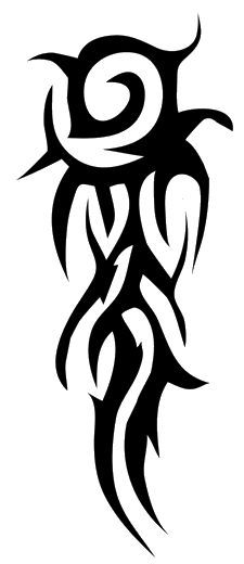tribal tattoos designs for men lower arms - Google Search